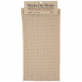 Weeks Dye Works Hand Over Dyed Wool Fat Quarter - Houndstooth Snow Cream
