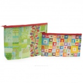 Eco Pouch Set Sunday Morning Quilts