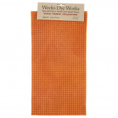 Weeks Dye Works Hand Over Dyed Wool Fat Quarter - Houndstooth Sweet Potato