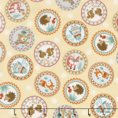Camp - A - Long Critters - Circles Tan Yardage