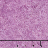 Magical Reef Batiks - Swirls Dusty Rose Yardage