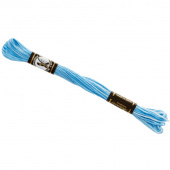 Presencia 6 Ply Cotton Embroidery Floss Powder Puff Blue