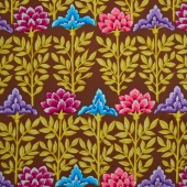 Kaffe Collective - Spicy Palette Mughal Brown Yardage