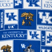Fleece College - Kentucky Wildcats Blue Yardage