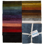 "Woolies Color Wash Flannel 10"" Squares"