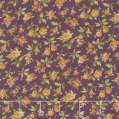 Rustic Winds - Small Floral Purple Yardage