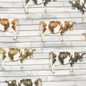 Farmhouse - Cows Country Digitally Printed Yardage
