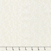 Farmhouse II - Country Text Milk Yardage