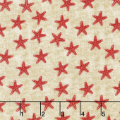 Shoreline - Starfish Red Yardage