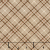 Hold Your Horses - Plaid Brown Yardage