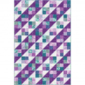 Bejeweled Batiks Four Square Quilt POD Kit