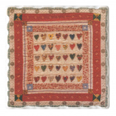 American Quilts Coaster - Hearts