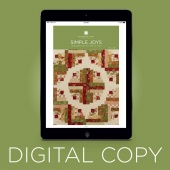 Digital Download - Simple Joys Quilt Pattern by MSQC