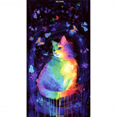 Cats - Mystical Cat Multi Panel