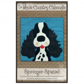 Springer Spaniel Precut Fused Appliqué Pack