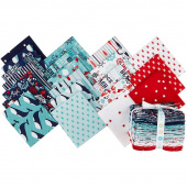 Deep Blue Sea Fat Quarter Bundle