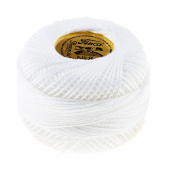 Presencia Perle Cotton Thread Size 8 Soft White