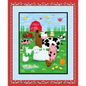 Farm Life - Farm Multi/Blue Panel