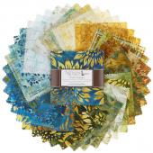 Artisan Batiks - Summer Flowers Charm Pack