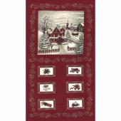 Once Upon A Memory - Crimson Panel