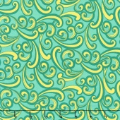 Paloma - Swirl Light Jade Yardage