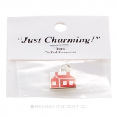 Schoolhouse Charm Red