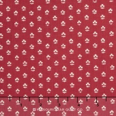 Hamilton - From Eliza Hamilton's Era c. 1770-1790 Foulard Red Yardage