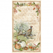 Seeds of Gratitude - Pheasant Multi Panel
