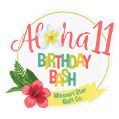 Missouri Star Aloha Birthday Bash Magnet