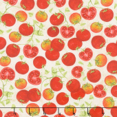 Country Road Market - Tomatoes Tan Yardage
