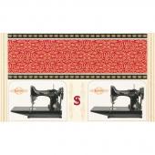 Sewing with Singer - Sewing Machine Metallic Panel