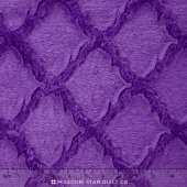 "Cuddle - Soft Cuddle Lattice Jewel 60"" Minky Yardage"