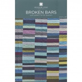 Broken Bars Quilt Pattern by MSQC