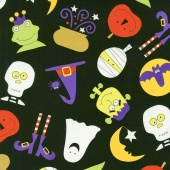 Fright Night - Quite a Fright Black Yardage