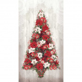 Let It Sparkle - Cozy Christmas Winter White Digitally Printed Panel