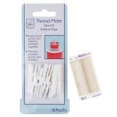 Best Mates - Mettler Eggshell Thread AND Thread Mate Spool & Bobbin Pegs Bundle