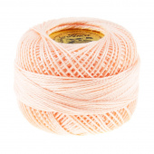 Perle Cotton Thread Size 8 Very Light Apricot