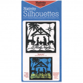 Nativity Silhouette Precut Fused Appliqué Pack