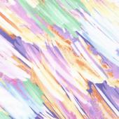 Color Calypso - Berry Brush Strokes Multi Yardage