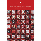 Circle Magic Roundup Quilt Pattern by Missouri Star