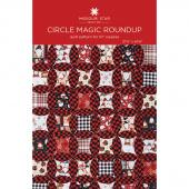 Circle Magic Roundup Quilt Pattern by Missouri Star