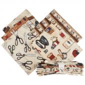 Sew American 5 Easy Pieces Fat Quarter Bundle