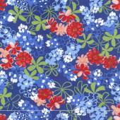 Bluebonnet Patch - Flowers Navy Yardage