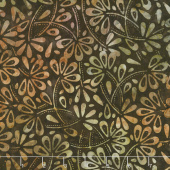 Tonga Batiks - Skyview Flower Field Fudge Yardage