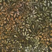 Tonga Batiks - Skyview Flower Field Fudge Yardage
