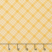Lily - Plaid Yellow Yardage