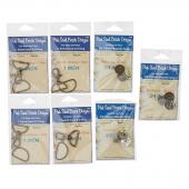 Malibu Sling Hardware Kit - Antique Gold