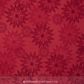 The Forever Collection - Snowflakes Light Salsa Yardage