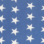 Mackinac Island - Bunting Star Light Blue Yardage