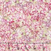 Hydrangea Dreams - Packed Hydrangeas Pink Yardage